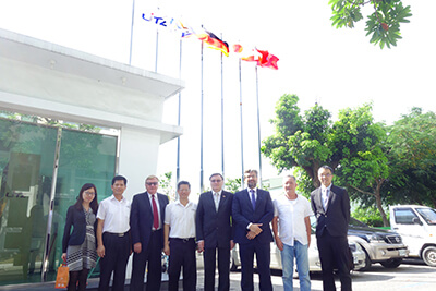 2017.06 Welcomed the Deputy Minister of the Czech Ministry of Industry and Trade,