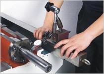 螺帽座精度校正,以确保传动精度。